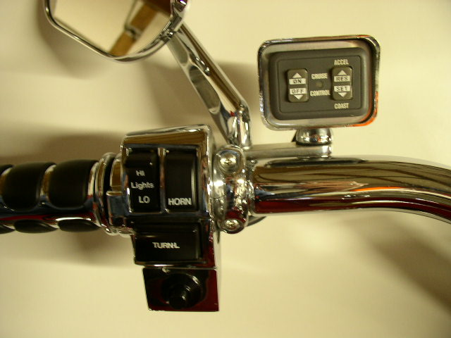 Motorcycle Cruise Lever : Cruise control